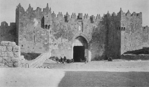 Nehemiah 13:19-21 Jerusalem gate open
