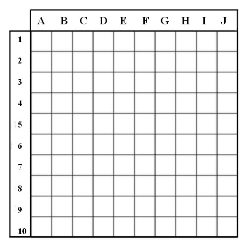 Battleship game grid