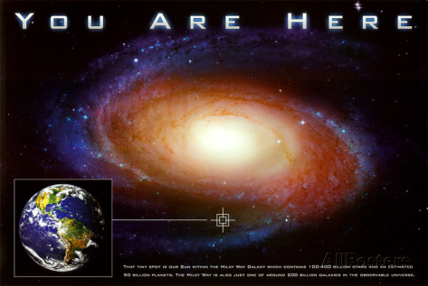 galaxy space poster science posters classic earth astronomy allposters prints holes dot scale wall game there sp into source sun